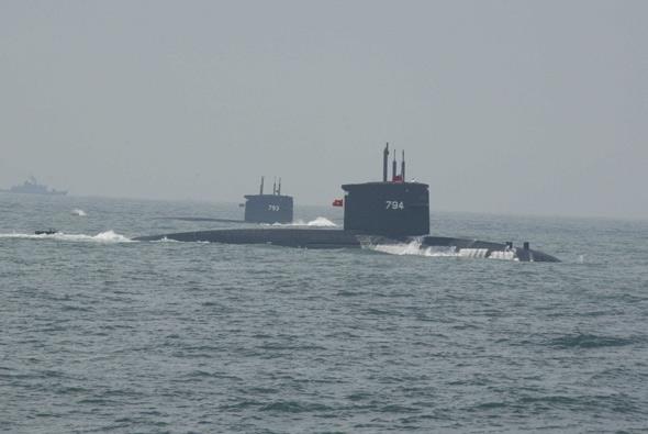 图文:台湾海军潜艇部队