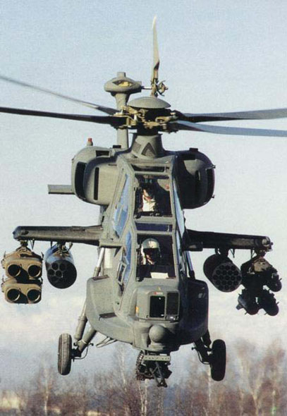 武器纵横:意大利A-129武装直升机全解析(组图)