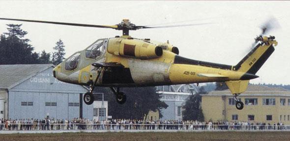 意大利A129武装直升机