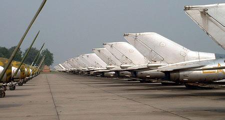 图文:美国海军航空兵列装的F-4C战机
