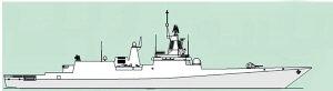 远海作战:俄海军超大型护卫舰战力强(组图)