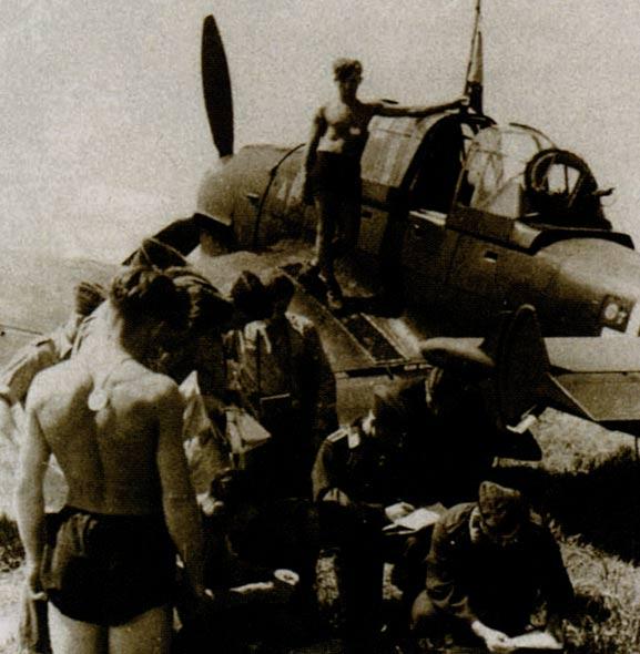 德国斯图卡俯冲轰炸机海外服役(图)