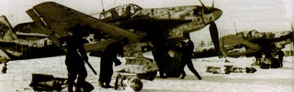图文:投入东线的作战第1俯冲轰炸机联队