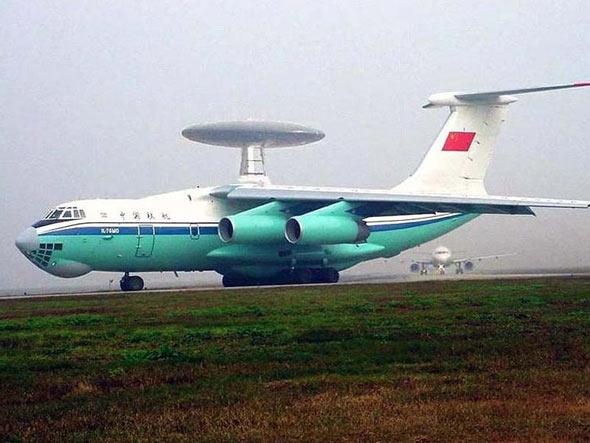 图文:国产空警-2000型预警机
