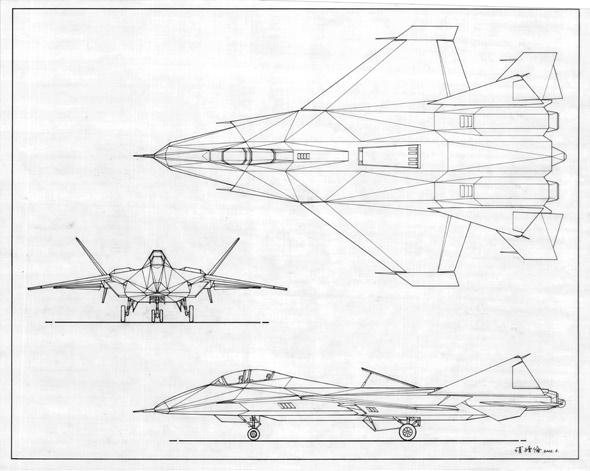 组图:项续伦之隐形战机