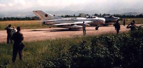 图文:阿尔巴尼亚空军歼6战机