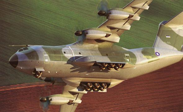 欧罗巴大力神:A-400M军用运输机终极报告(图)