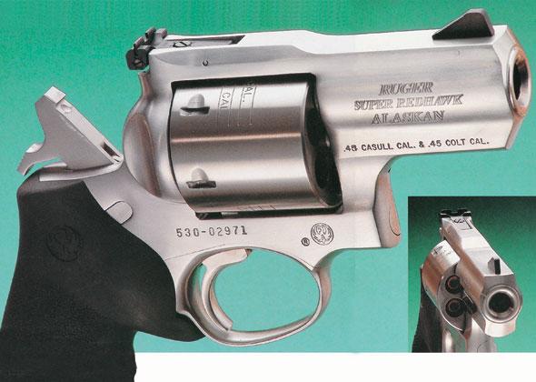 鲁格公司推出世界上口径最大短枪管转轮手枪