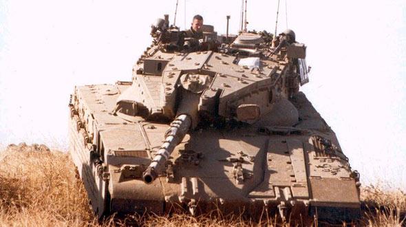 以色列梅卡瓦主战坦克