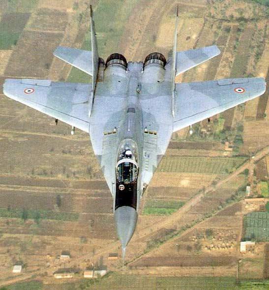 印度空军米格29事故可能使俄失去90亿美元合同
