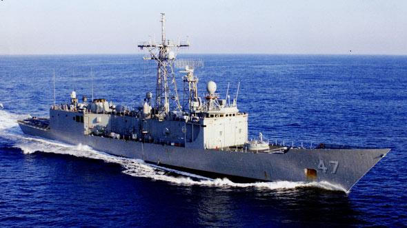 图文:佩里级护卫舰已不能满足美国海军需要