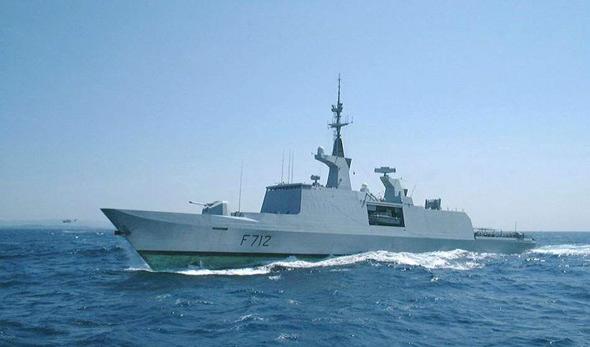 图文:法国拉菲特级隐身导弹护卫舰