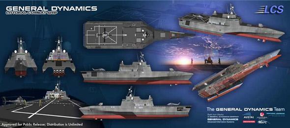 图文:美濒海战斗舰7视图