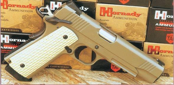 经典再现:M1911最新型沙漠勇士手枪(组图)
