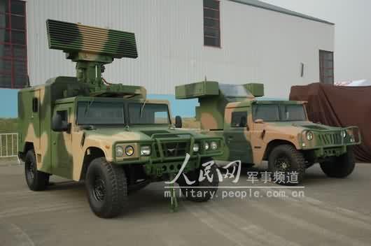 图文:FB-6A自行防空导弹系统