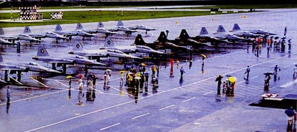 图文:台空军志航基地公众开放日