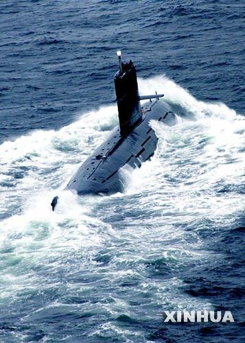 图文:中国海军039G宋级常规潜艇