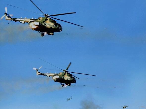 乌克兰考虑参与中国运输直升机制造项目(组图)