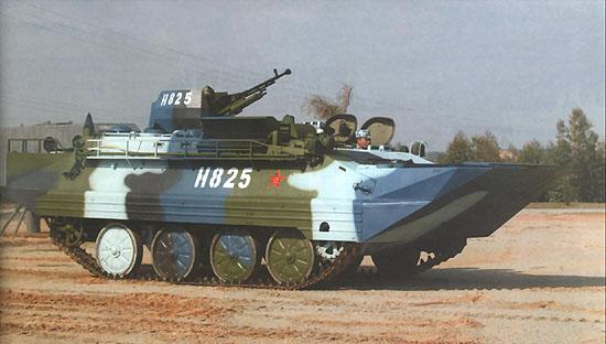 图文:中国海军陆战队两栖装甲车