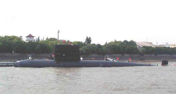 图文:中国海军宋级改型常规潜艇