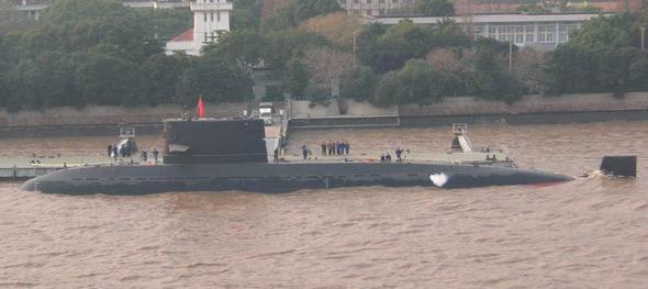 图文:中国海军最新型元级常规潜艇