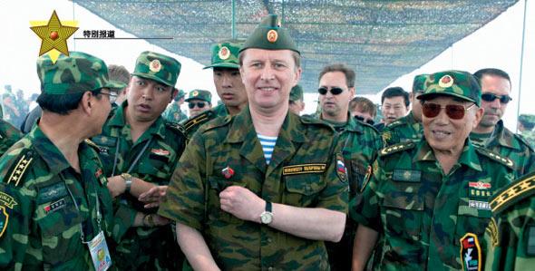 俄媒回顾中俄军演:在S国的和平使命(组图)