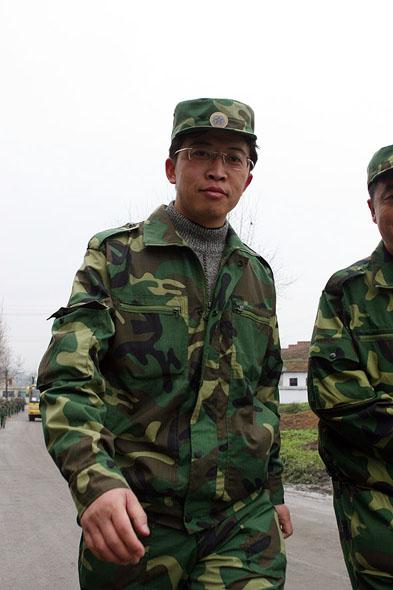 图文:贵州省十大杰出青年余霄踌躇满志重走长征路