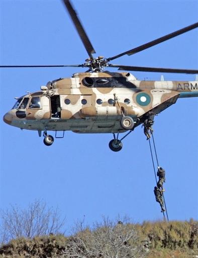 图文:巴基斯坦军用直升机