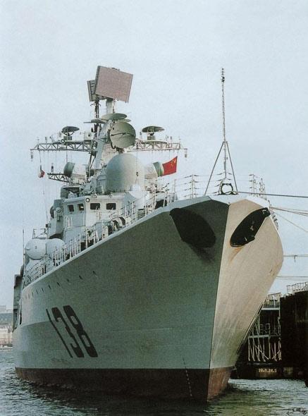 中国海军最新型现代II级驱逐舰战力详解(组图)