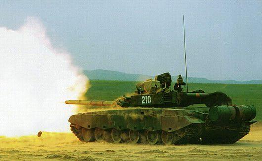 解放军99式新型主战坦克性能战力揭秘
