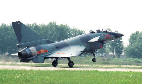 图文:歼-10战机空军涂装标准照