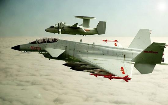 图文:歼10战机双发大改型及国产新型预警机