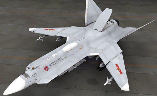 图文:CG作品中国第四代战斗机想像图