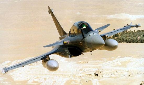图文:法国的三代半战斗机阵风