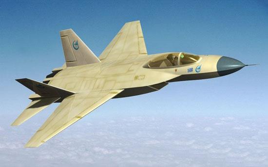 图文:中国最新第四代战斗机想像图