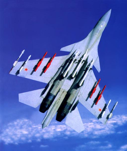图文:苏35战机标准空战任务配置