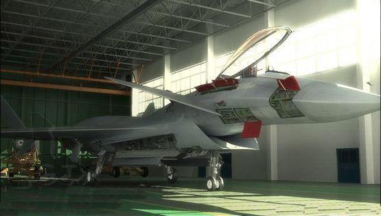 图文:网络上流传的中国歼14战机效果图