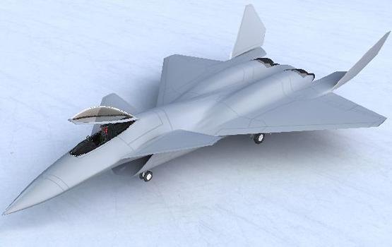 图文:中国第四代战机3D图