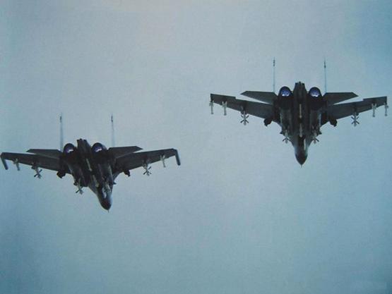 图文:90年代初中国开始引进俄制苏27SMK战机