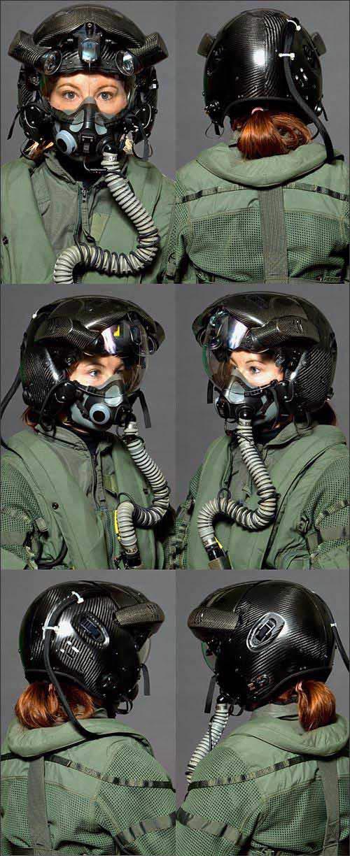 图文:新型科幻式头盔