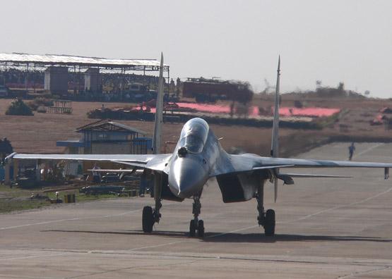图文:印度已经大量购买了俄制苏30MKI战机