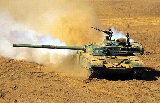 解放军98式主战坦克实力及问题(图)