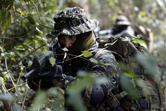 台军官兵不愿在一线部队服役害怕与解放军交手