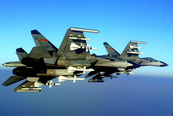 媒体披露中国空军解决大机群协同作战难题(图)