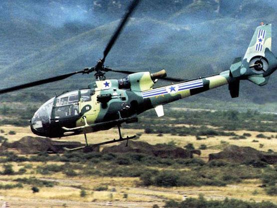 中国 陆航/陆航蓝军小羚羊轻型武装直升机
