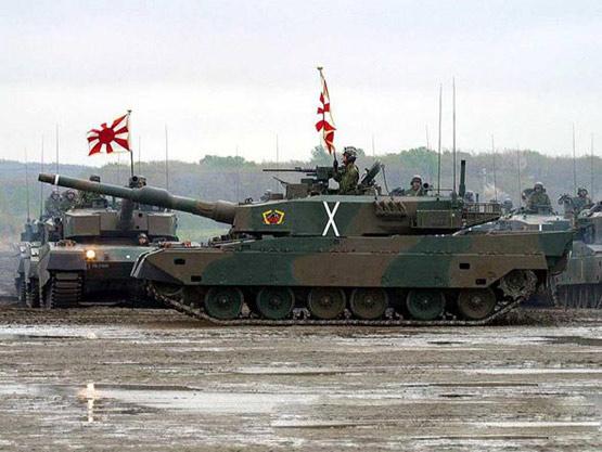 图文:日本90式坦克非常先进