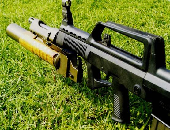中国新型LG2枪挂式榴弹发射器性能解析(组图)