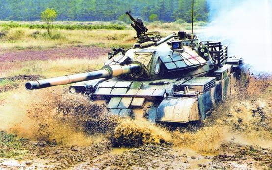 中国在国际主战坦克市场上崛起(图)