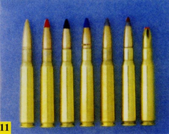 图文:美军M2HB机枪配用各式弹种