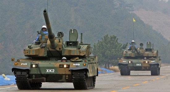 韩国展示新型XK-2主战坦克号称战力世界最强